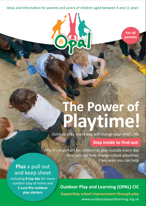 Parents Power of Play - Non OPAL